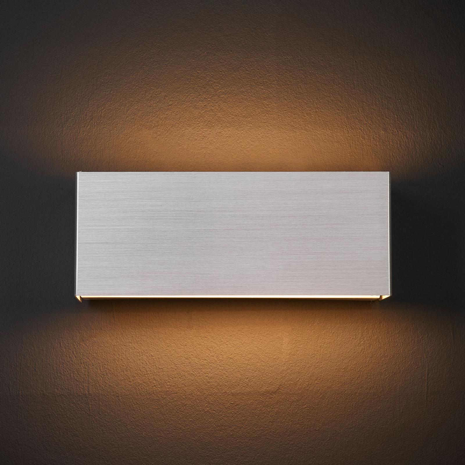 LED-seinälamppu Kimberly, 23x9cm, alumiini
