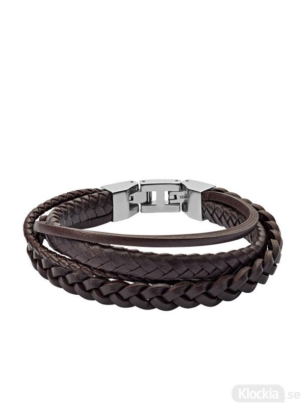 Herrsmycke FOSSIL Armband Vintage Casual JF03190040