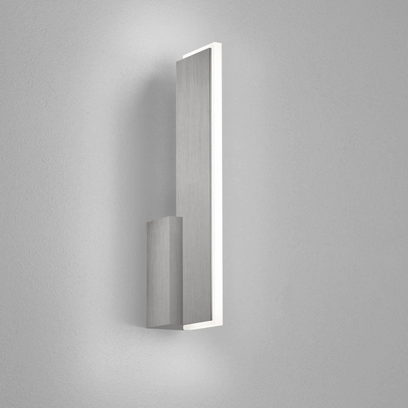 Helestra Nex -LED-seinävalaisin, matta nikkeli