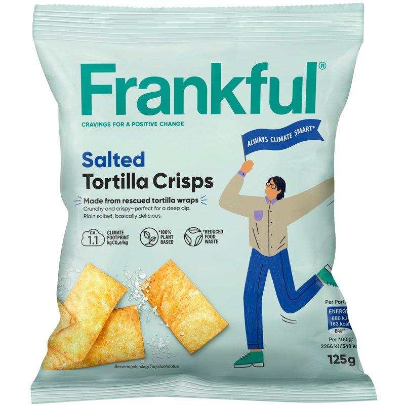 Tortilla Crisps Salted - 21% alennus