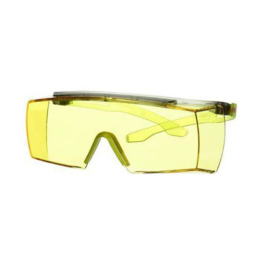 3M Secure fit 3700 Suojalasit Limenvihreä kehys, keltainen linssi