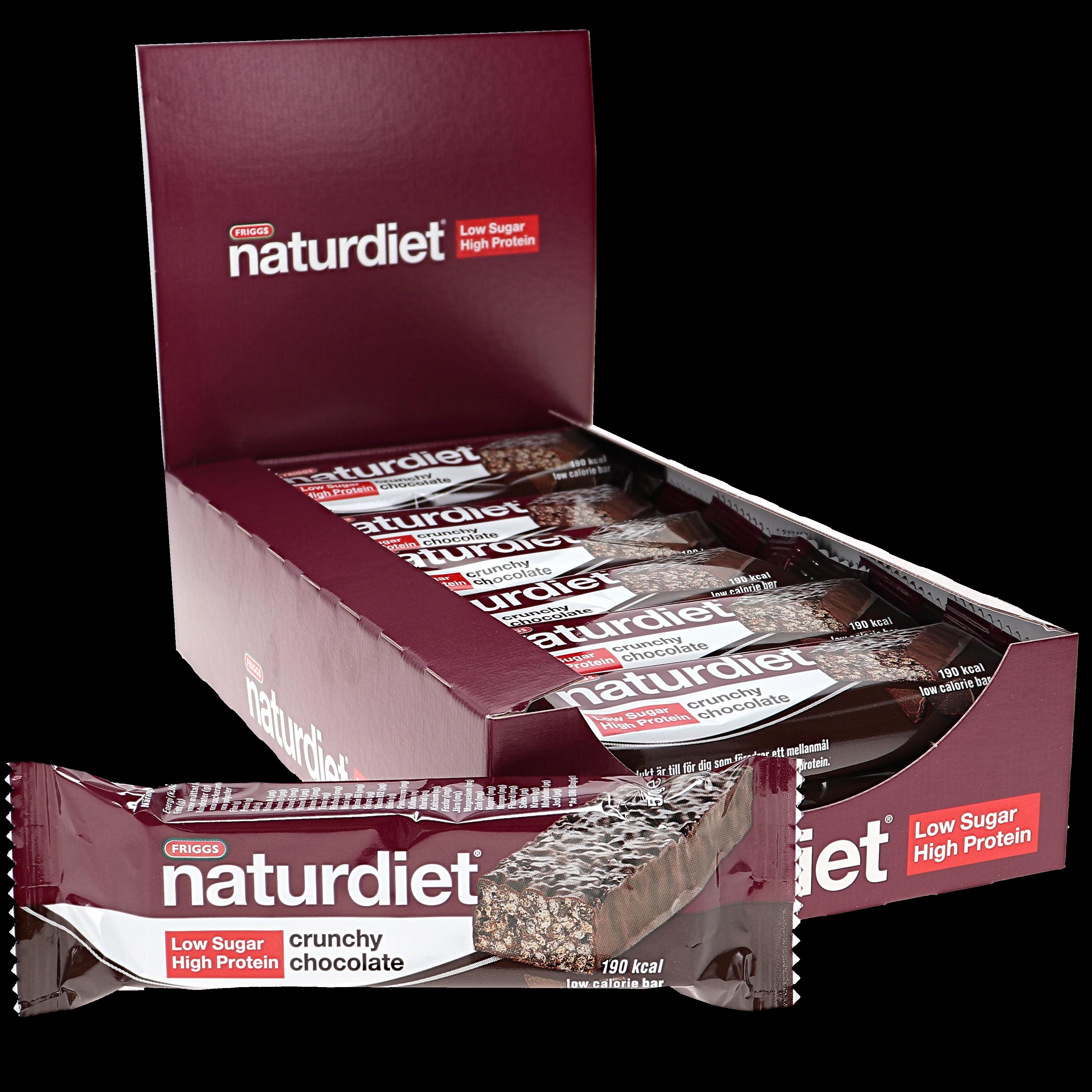 Crunchy Chocolate 18-pack - 51% rabatt