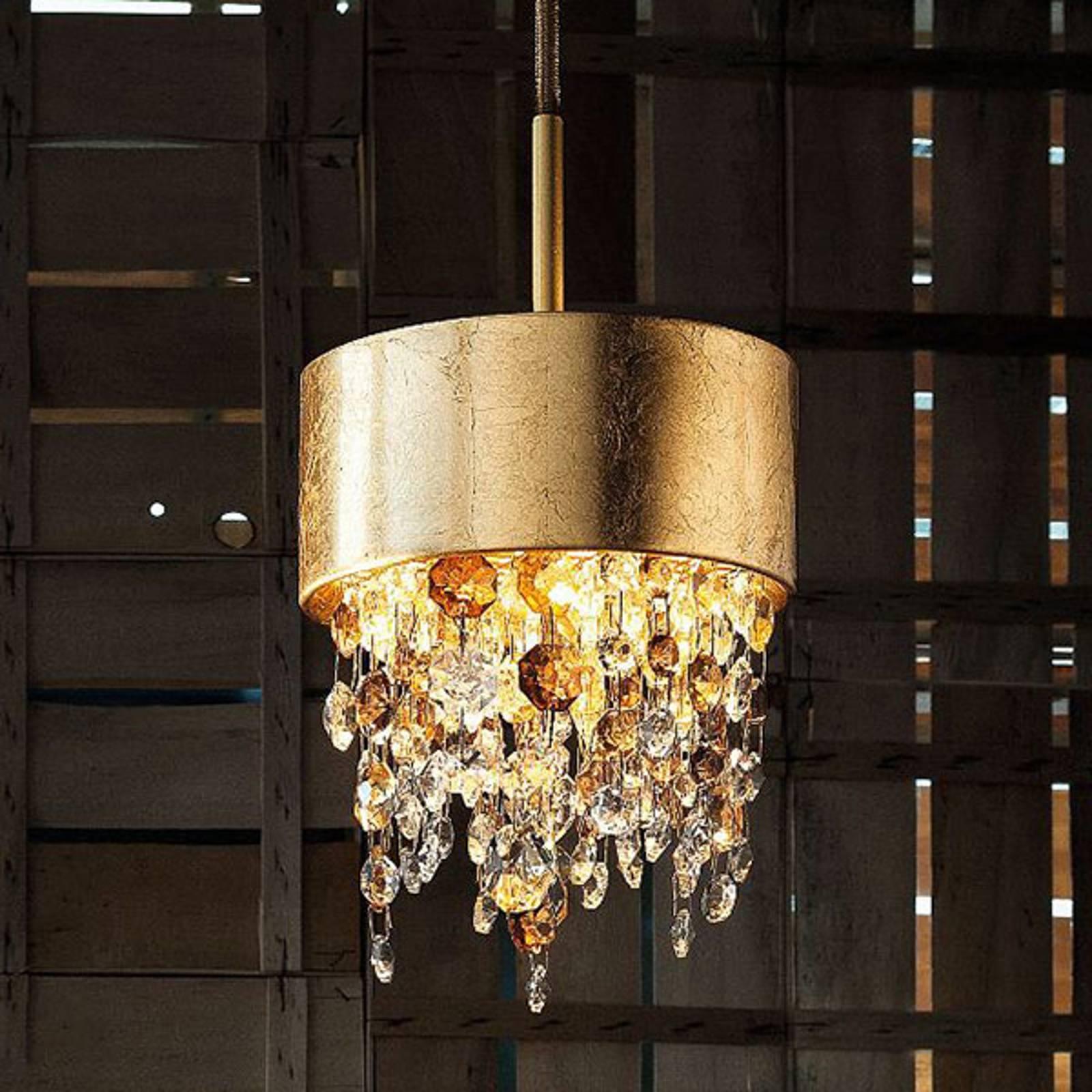 LED-riippuvalaisin Olà S2 15, Ø 15cm, amber