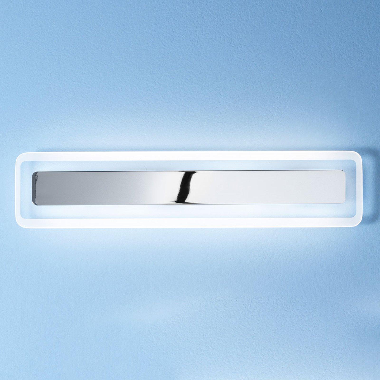 Antille LED-vegglampe krom 61,4 cm