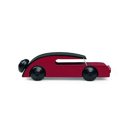 Bil Sedan Svart/rød Liten
