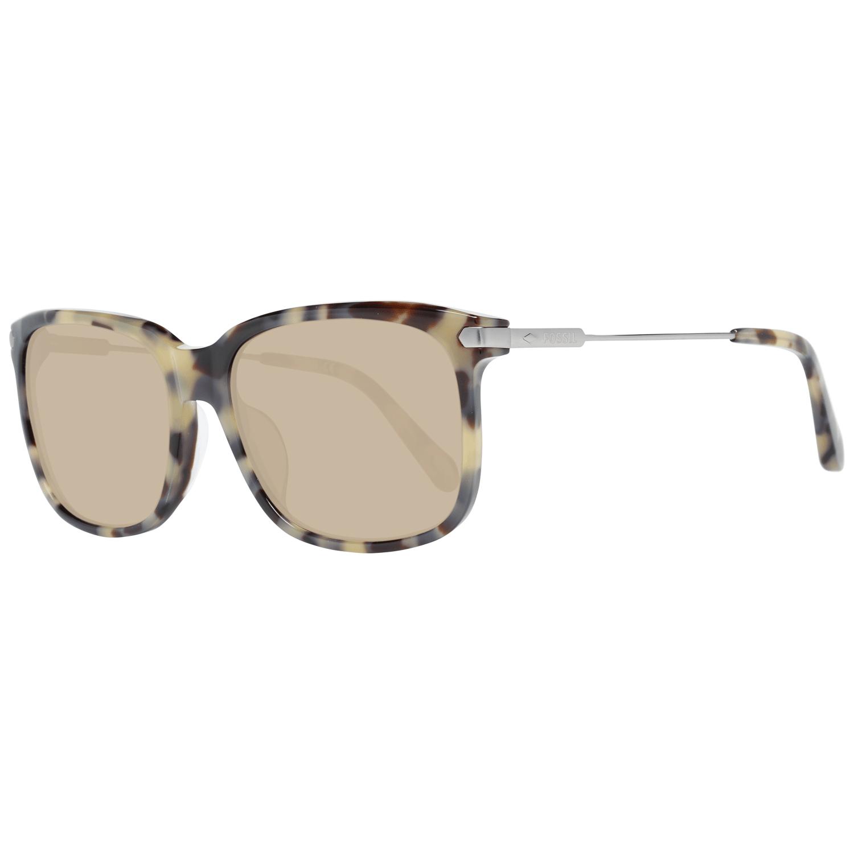 Fossil Unisex Sunglasses Brown FOS2040/F/S 58SRH