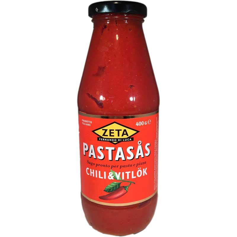 Pastasås Chili & Vitlök - 40% rabatt