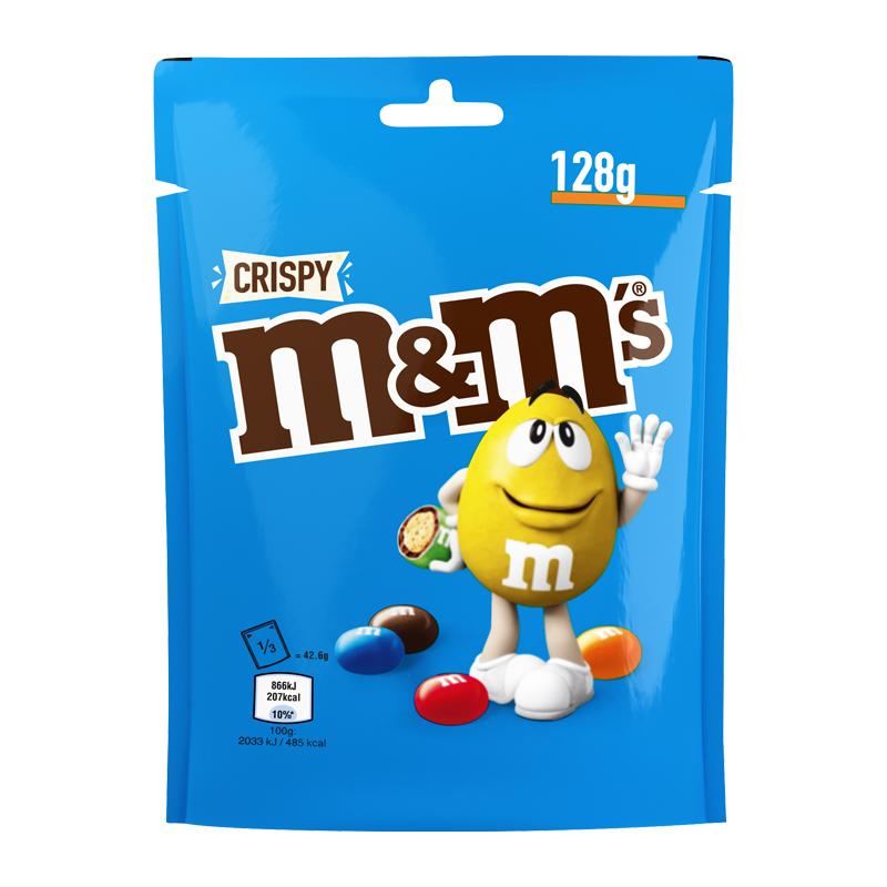 M&M's Crispy Pouch - 50% rabatt