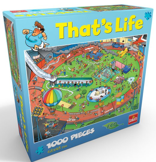 Goliath Games Puslespill That's Life - Sport 1000 Brikker
