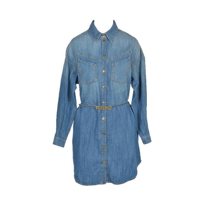 Pinko Women's Dress Blue 263324 - blue 40