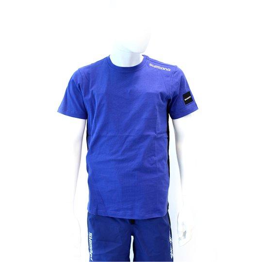 Shimano t-shirt, blå