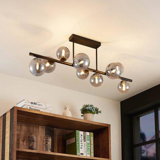 Lindby Simay taklampe, 9 lyskilder