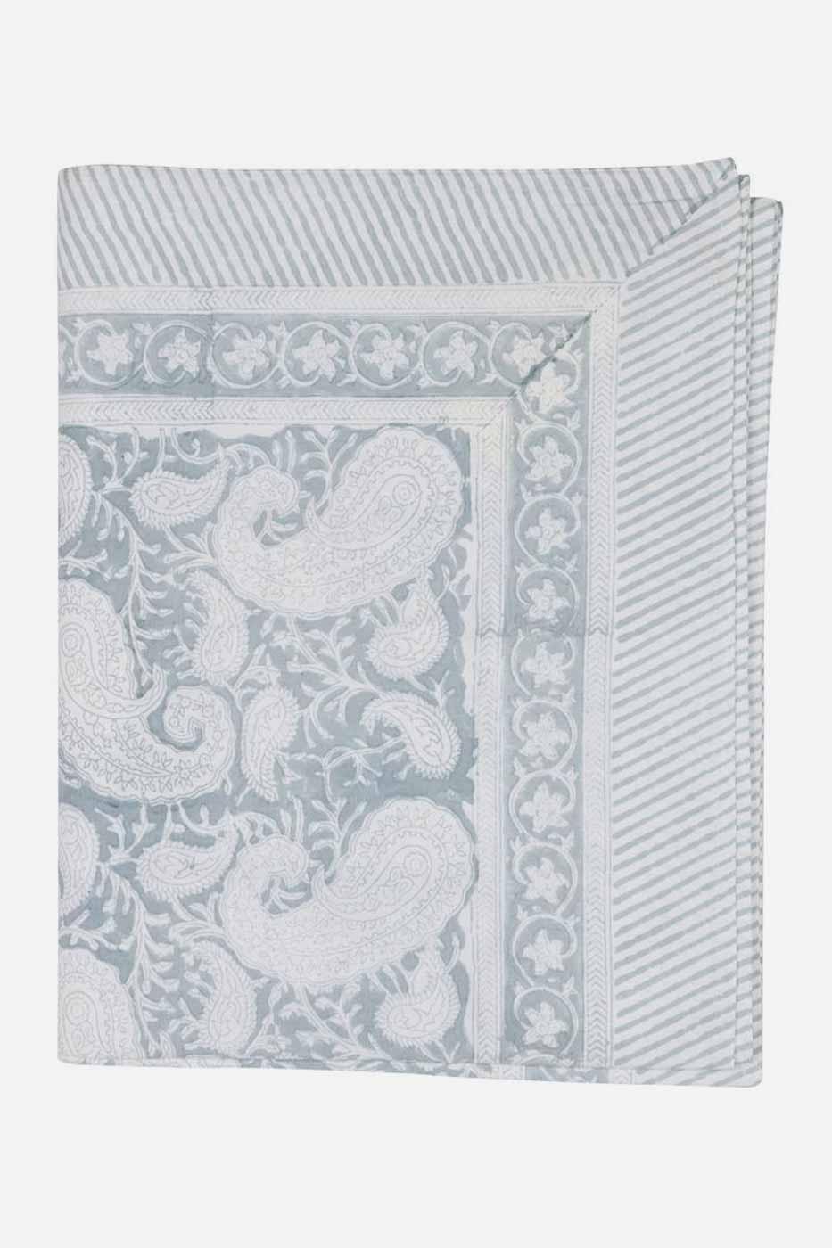 Duk Big Paisley Cashmere Blue 150x230