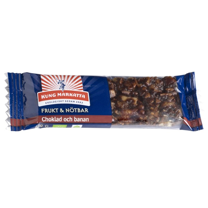 Eko Frukt & Nötbar Choklad Banan 40g - 19% rabatt