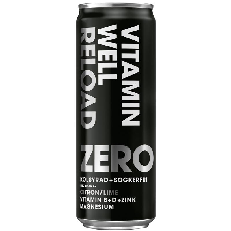 """Dryck """"Reload Zero"""" 355ml - 37% rabatt"""