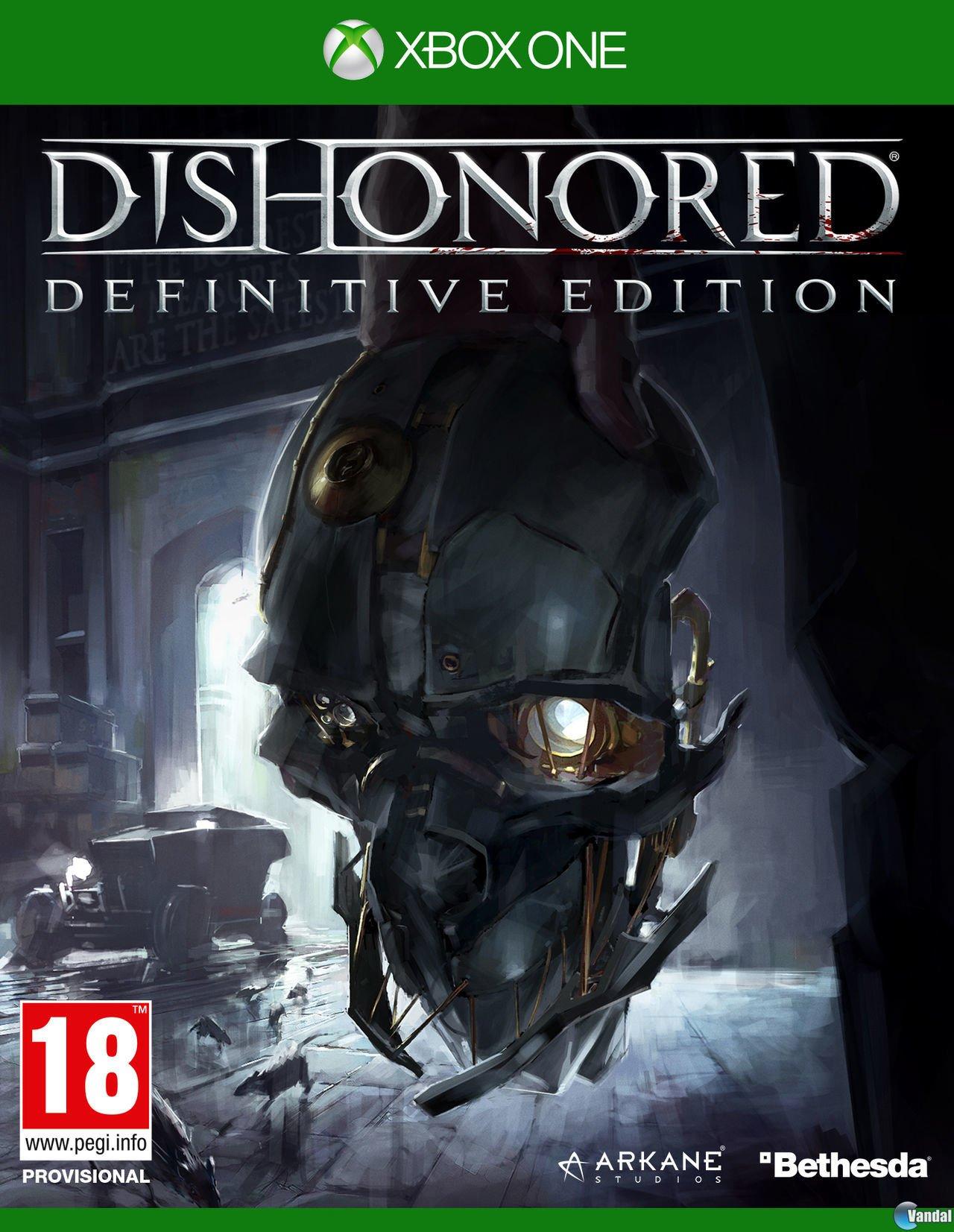 Dishonored - Definitive Edition (AUS) (FR/IT/DE/ES ONLY)