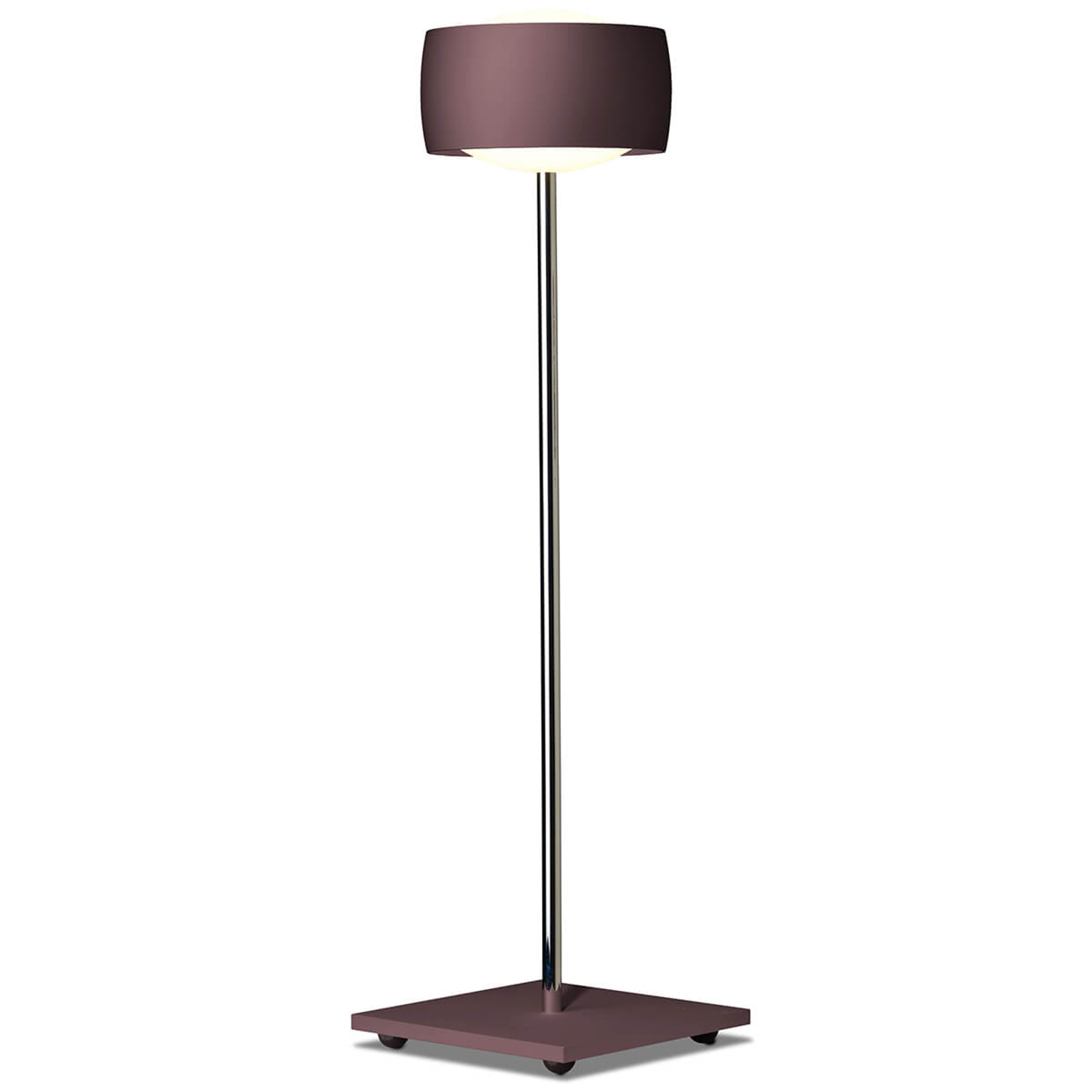 Eleohjauksella - LED-pöytälamppu Grace espresso