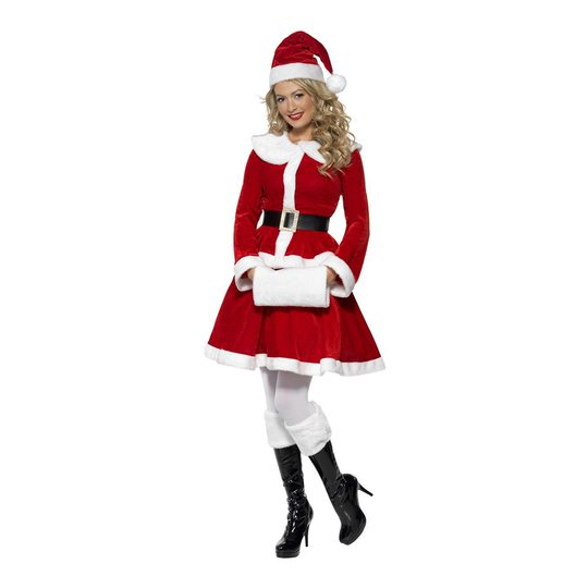 Miss Santa Maskeraddräkt - Small