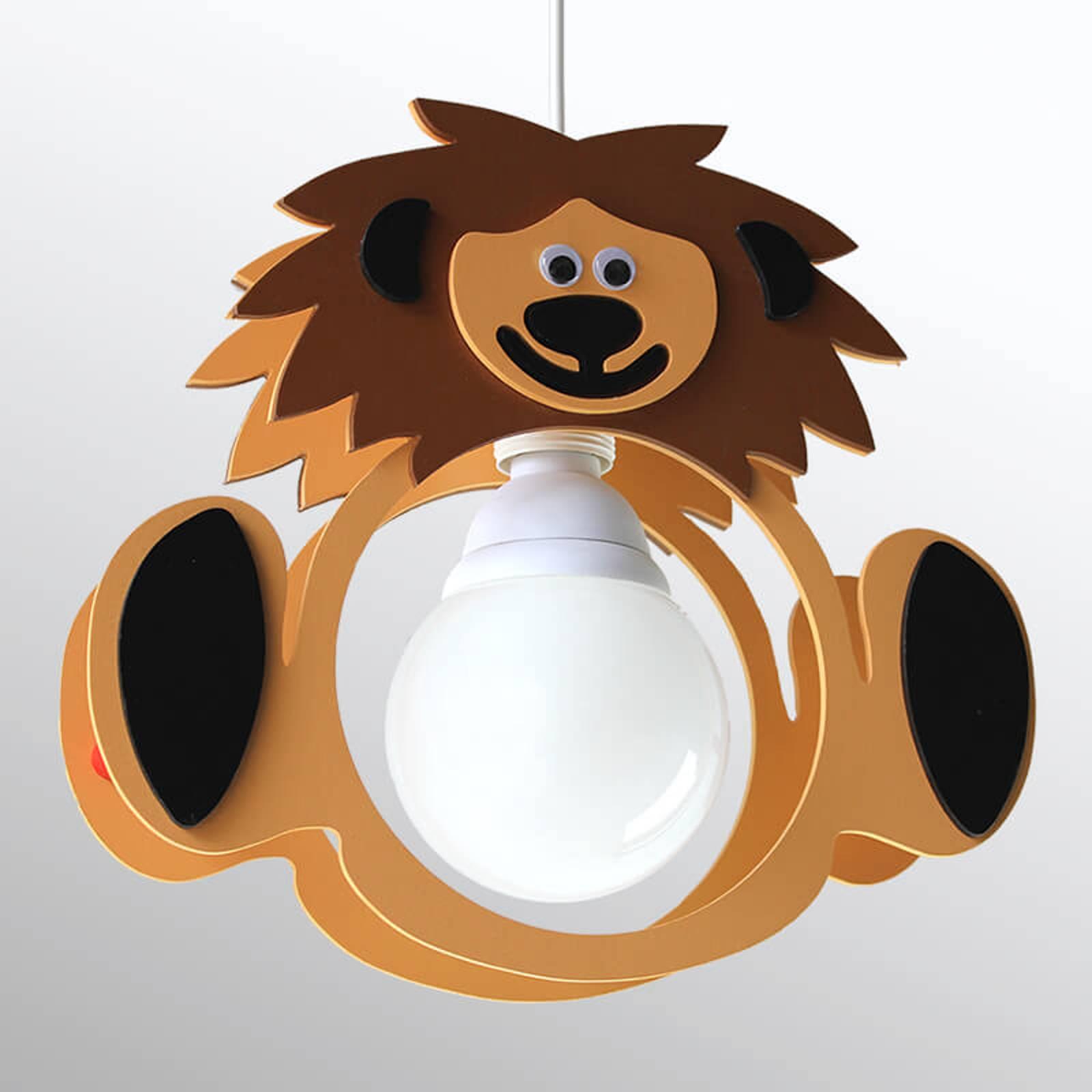 Lastenhuoneen riippuvalo Leo-leijona