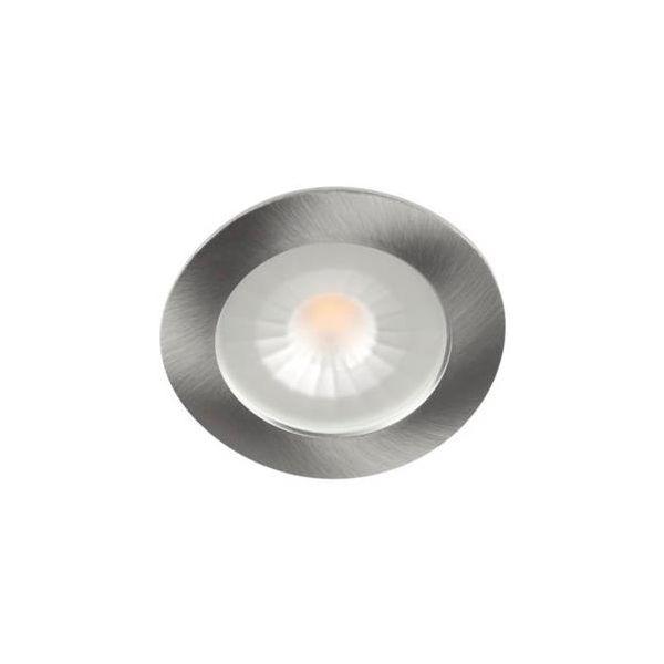 Hide-a-Lite 1202 Multi Downlight 12 V, børstet stål 2700 K