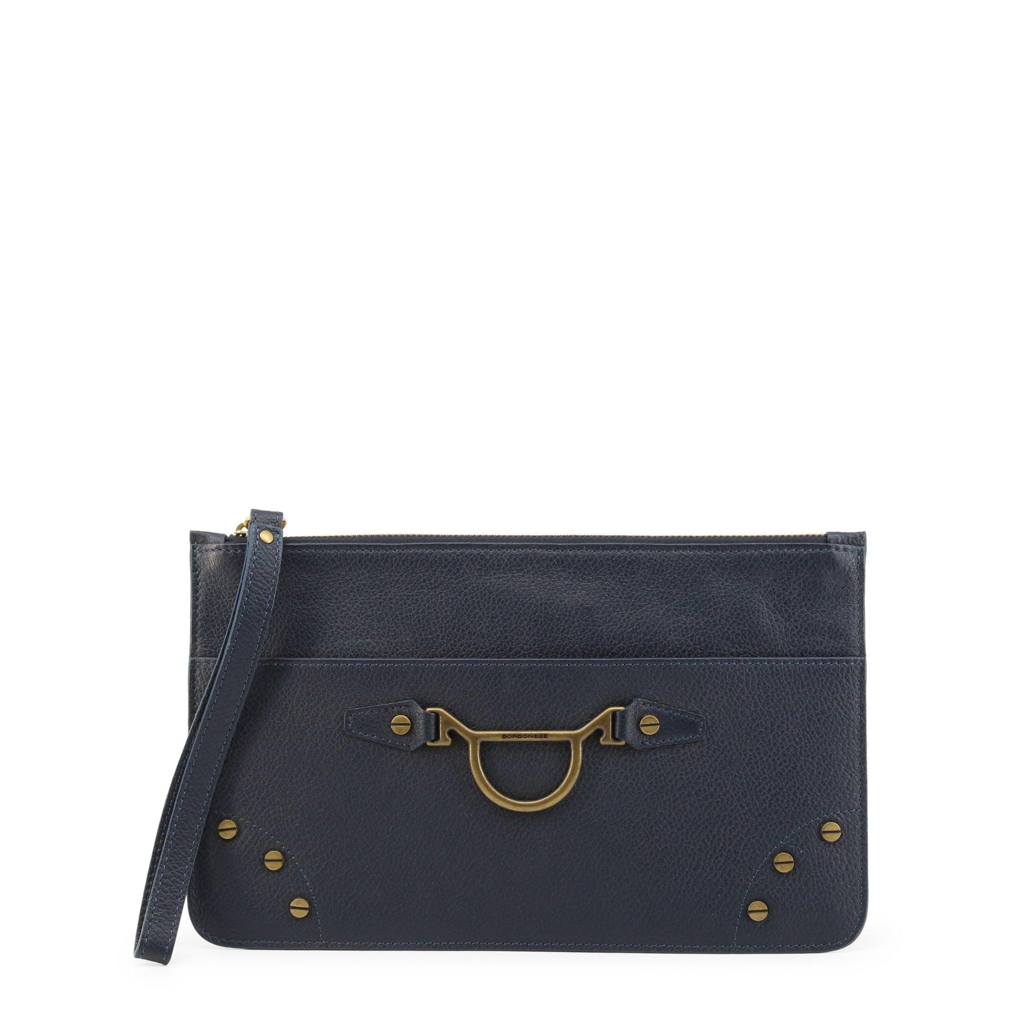 Borbonese Women's Clutch Bag Various Colours 962001-526 - blue NOSIZE