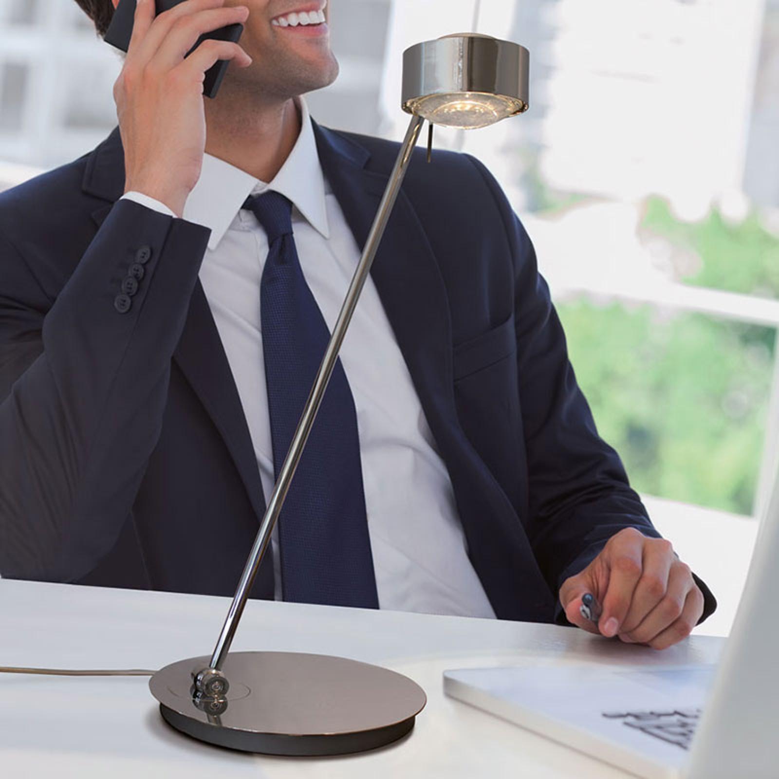 Pöytälamppu Puk Maxx Table, kromi