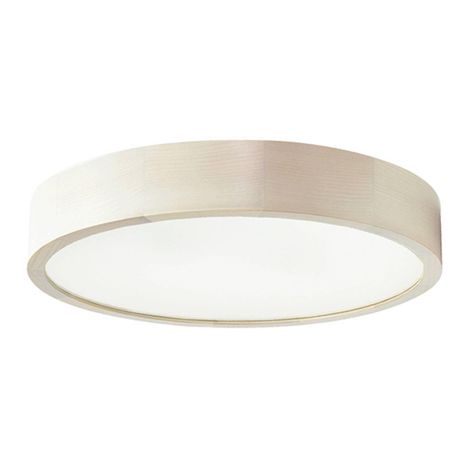 LED-taklampe Cleo, Ø 48 cm, hvit