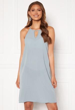 ONLY Nova Lux Limbo Dress Solid Blue Fog 42