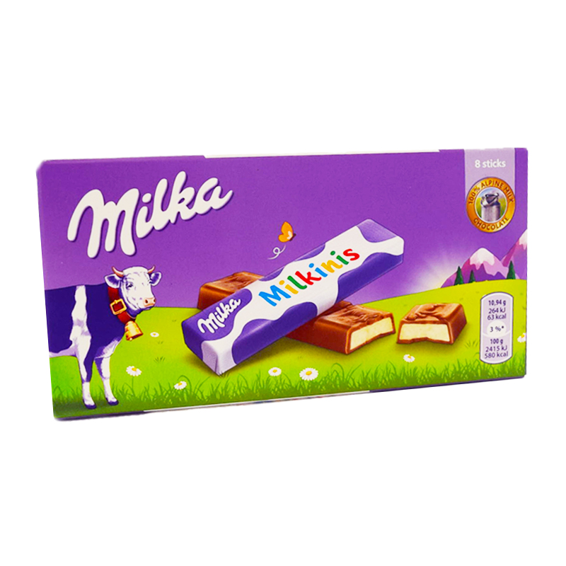 "Chokladsticks ""Milkinis"" - 21% rabatt"
