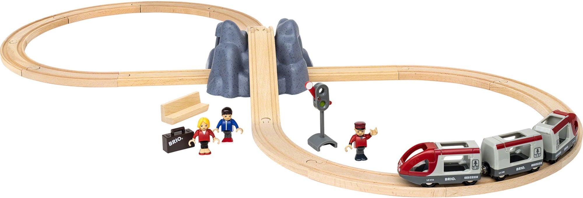 BRIO 33773 Tågbana Startpaket Järnväg