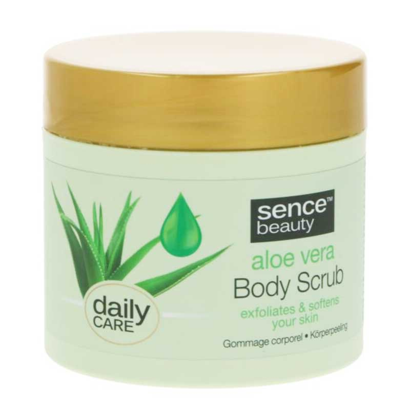 SenceBeauty Aloe Vera Body Scrub 490 gram
