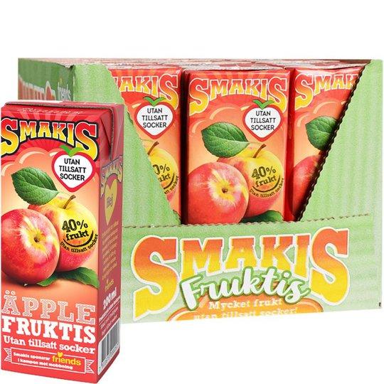 Fruktdryck Äpple 27-pack - 23% rabatt