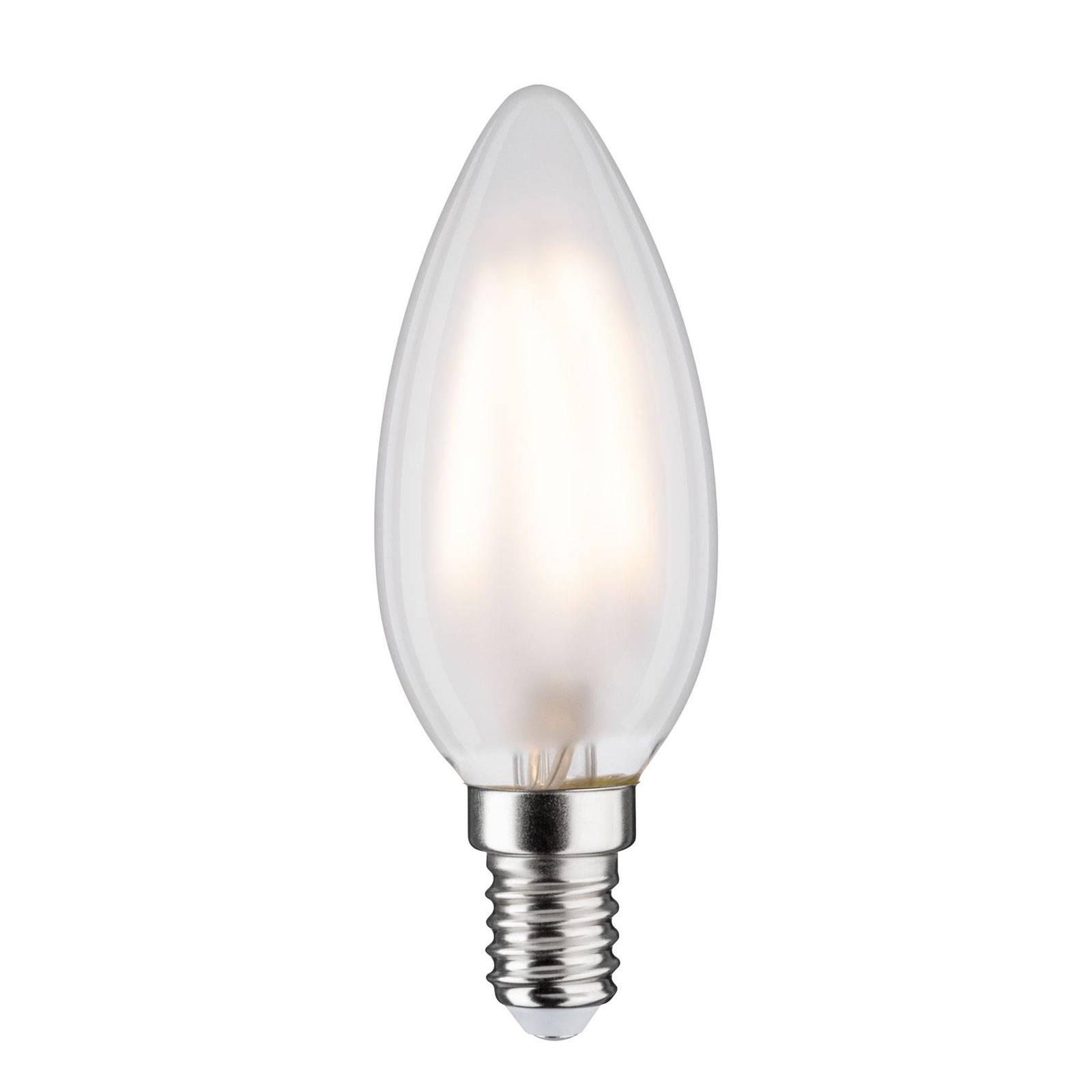 LED-kynttilälamppu E14 4,5W 2 700 K matta