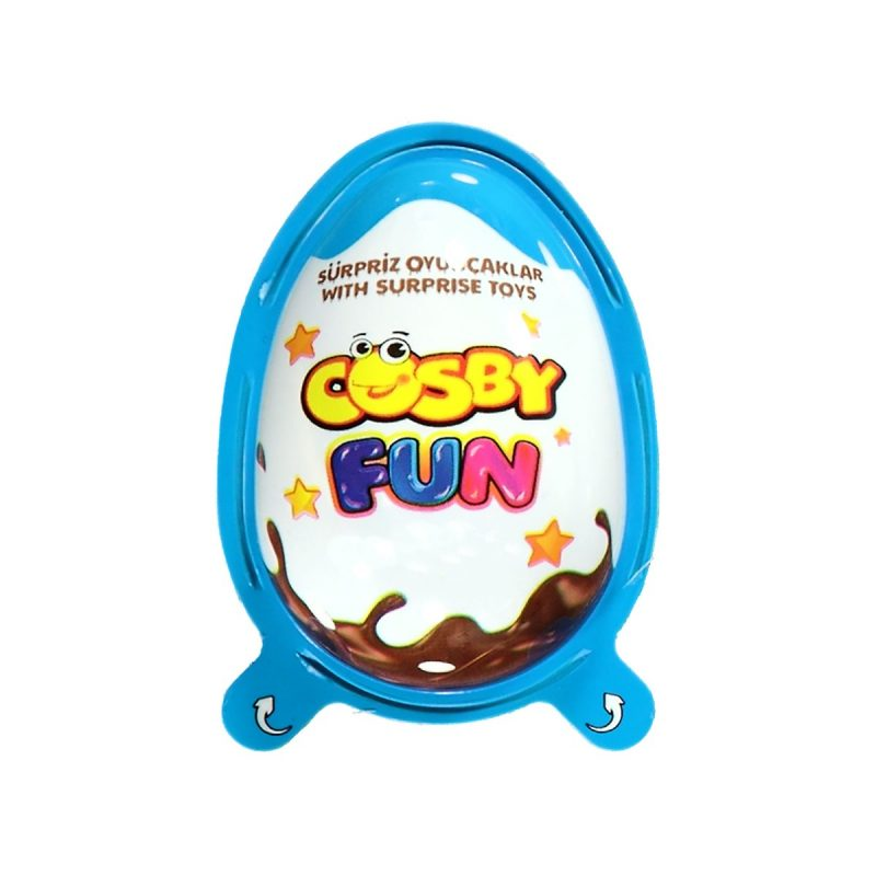 Cosby Fun Ägg Blå 20g