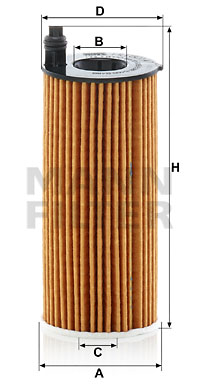 Öljynsuodatin MANN-FILTER HU 6014/1 z
