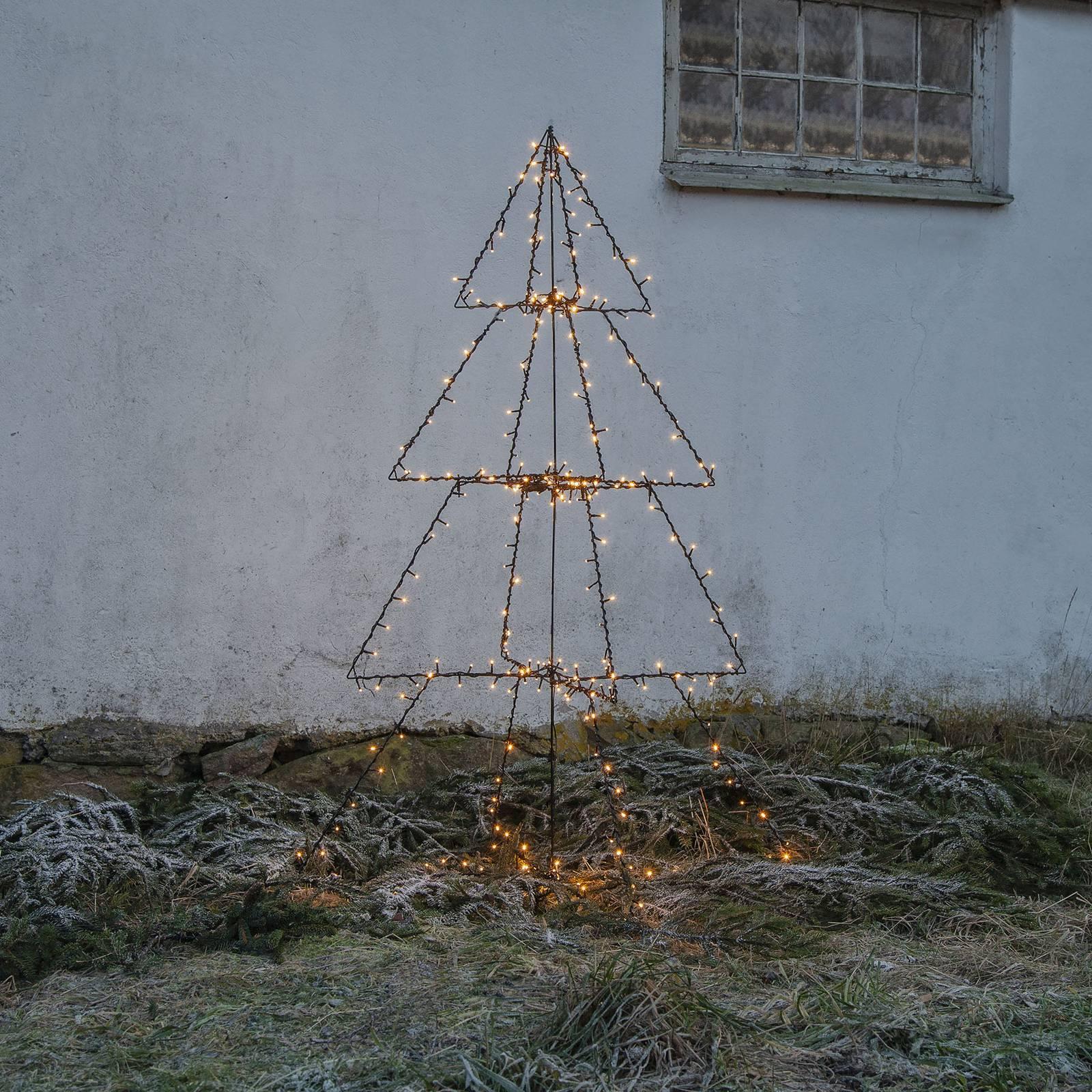 Light Tree Foldy -LED-ulkokoristevalo, 170 cm