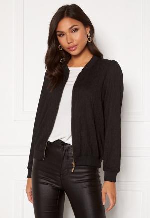 Happy Holly Simone puff jacket Black 32/34