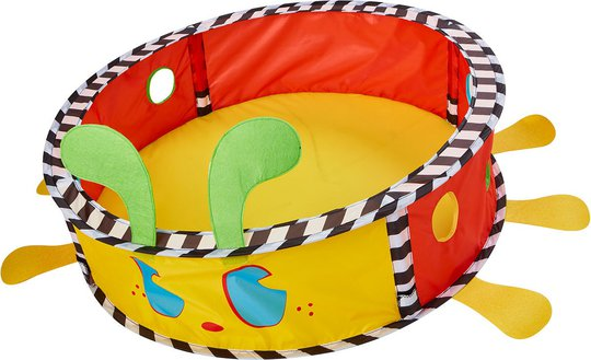 Pop 'N' Fun Ladybird Pop Up Baby Sensory Bollbasseng