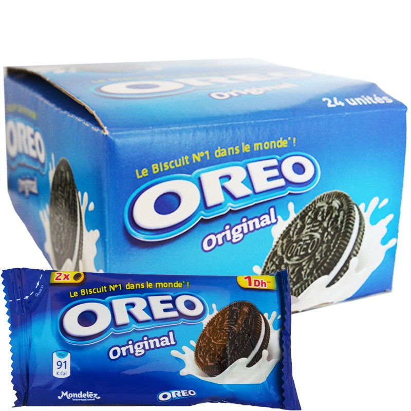 "Laatikollinen Oreos ""Original"" -keksejä 24 x 19 g - 73% alennus"