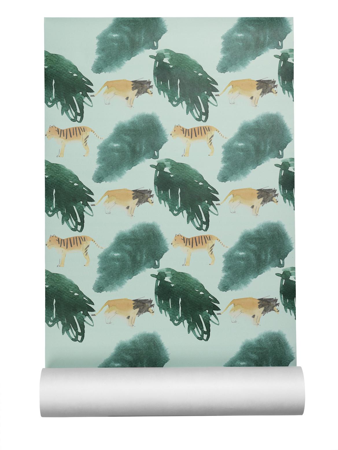 Nofred - Wallpaper - Safari Print