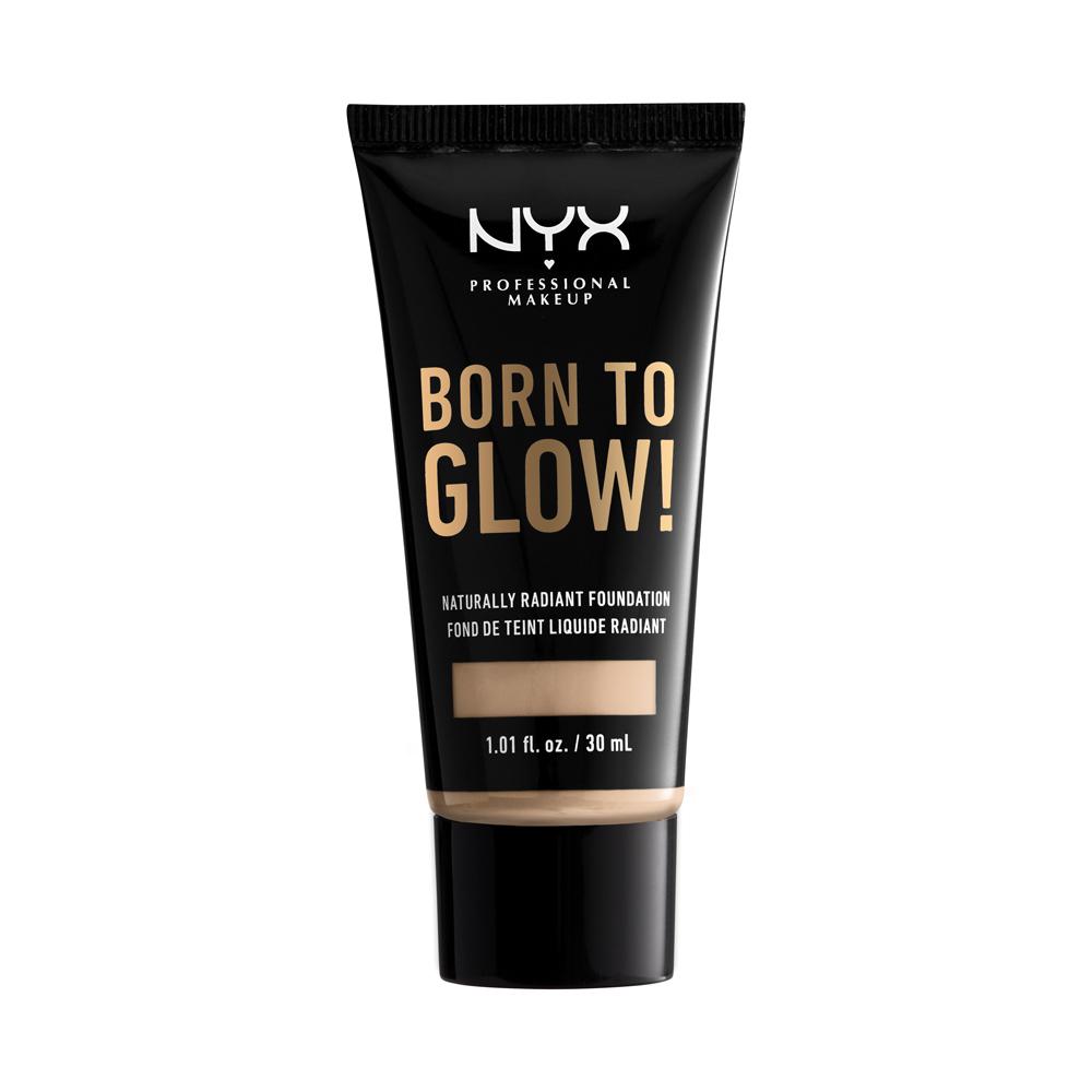 NYX Professional Makeup - Born To Glow Naturally Radiant Foundation - Vanilla