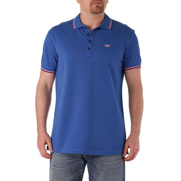 Diesel Men's Polo Shirt Blue 283944 - blue 2XL
