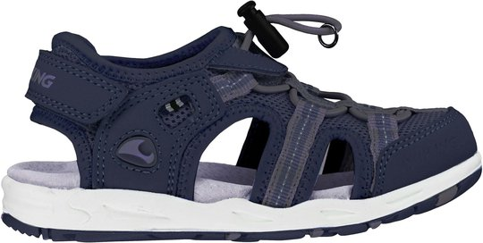 Viking Thrill Sandal, Navy/Grey, 22