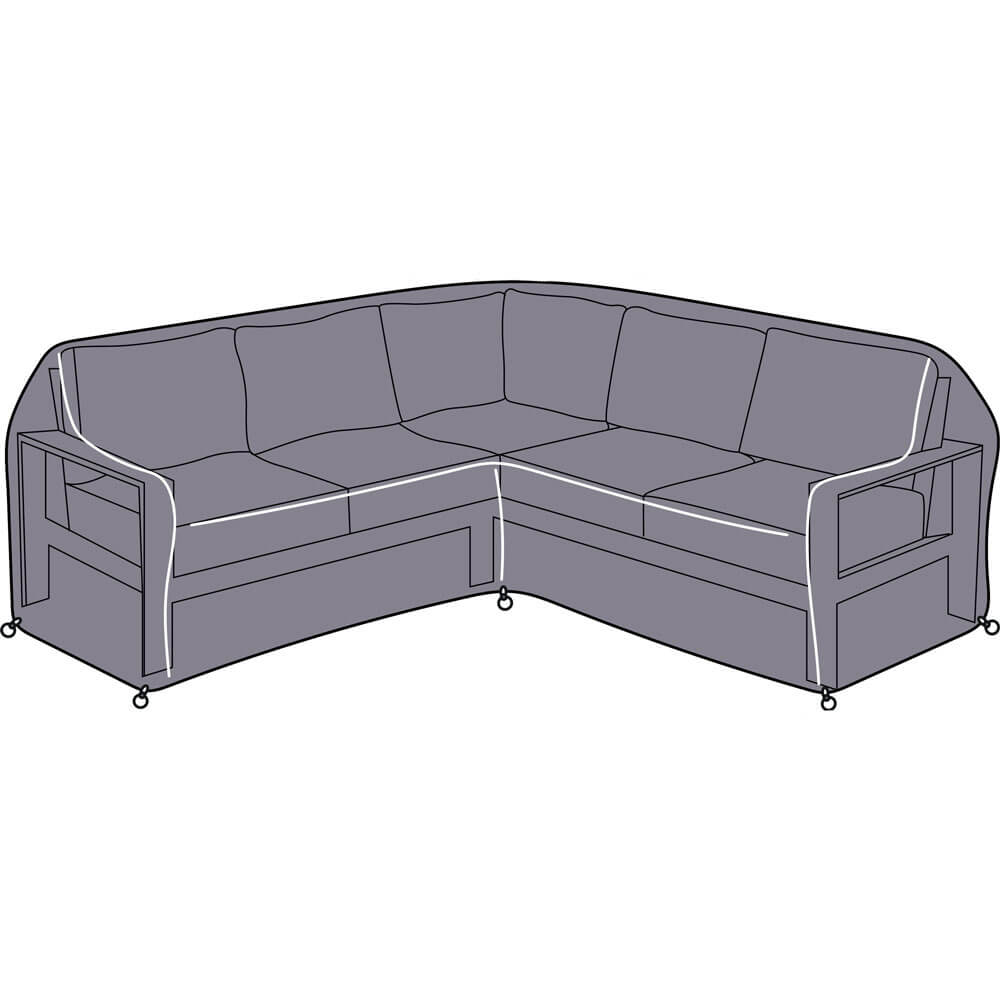 2021 Hartman Apollo Square Casual Dining Set Sofa Protective Cover
