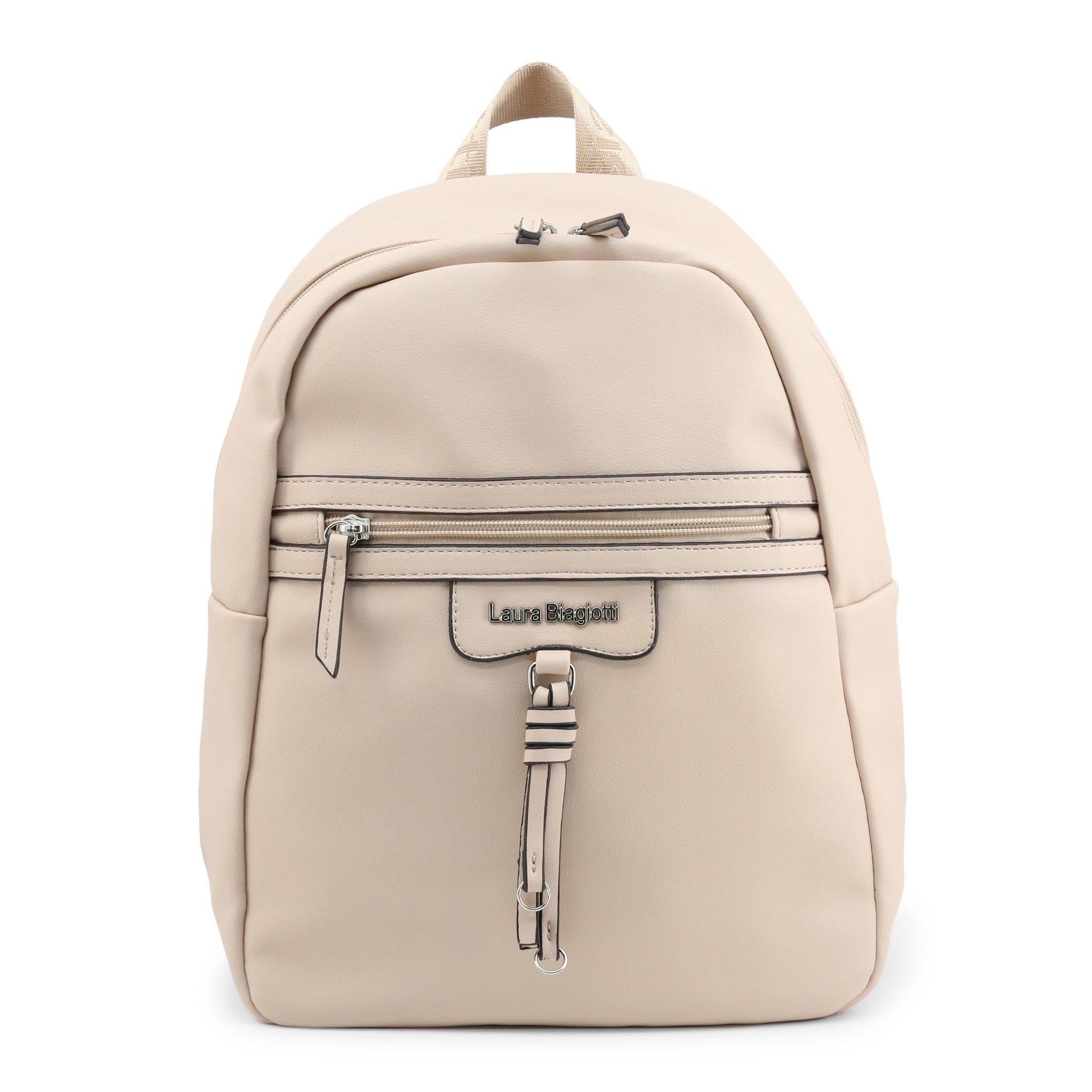 Laura Biagiotti Women's Backpack White Ramsey_103-4 - brown NOSIZE
