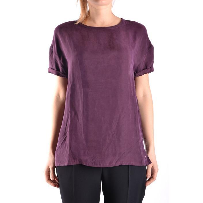 Jacob Cohen Women's T-Shirt Bordeaux 162514 - bordeaux S