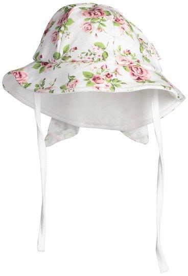 Petite Chérie Atelier Desideria Solhatt, White/Flowers 56-62
