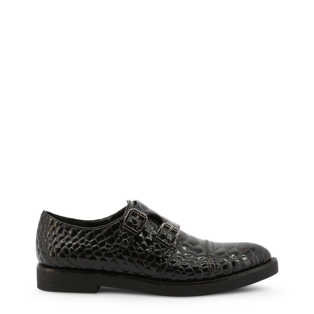 Roccobarocco Women's Flat Shoe Black ROSC0X104PITSTD - black EU 37