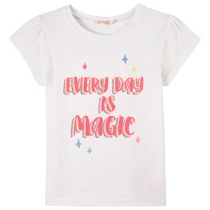 Billieblush Glitter Print T-shirt Vit 3 år