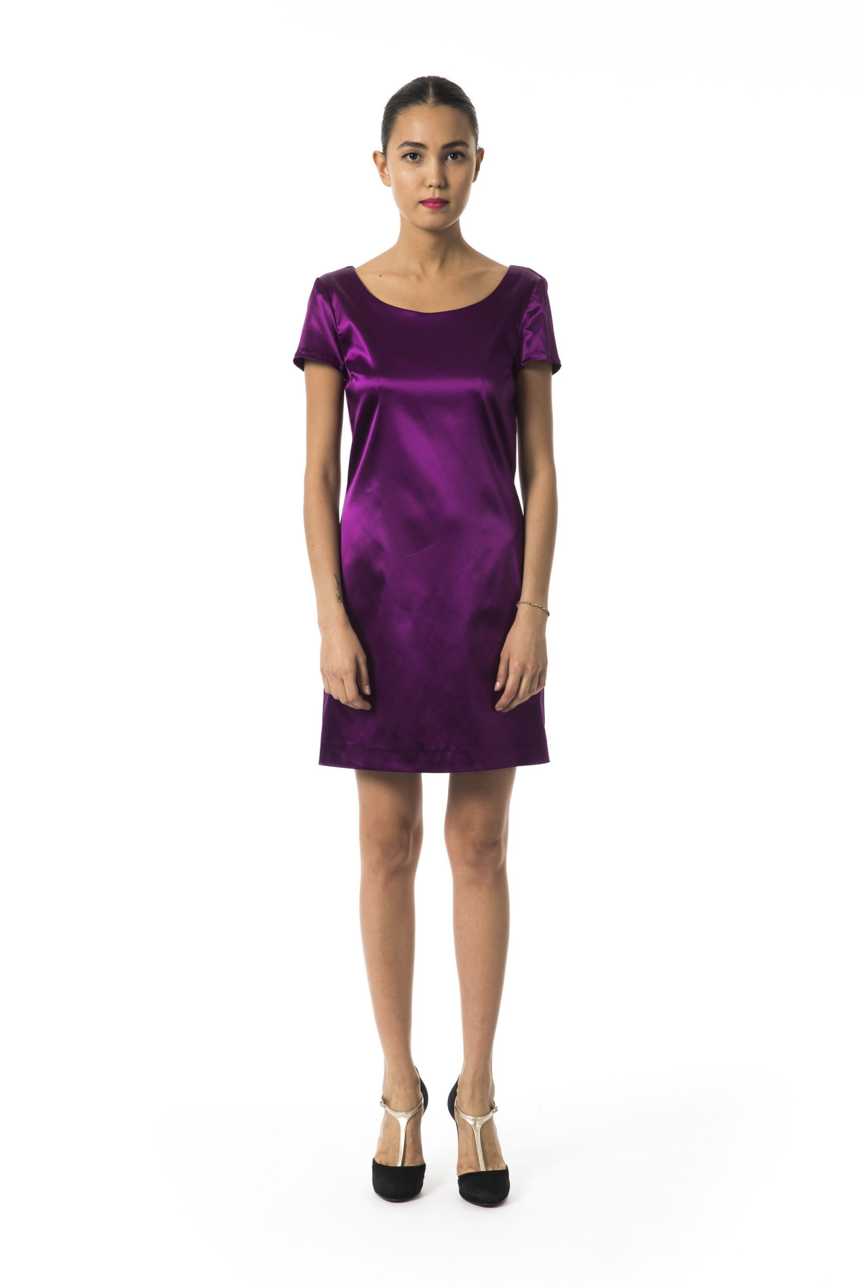Byblos Women's Magentabis Dress Violet BY994932 - IT40   XS